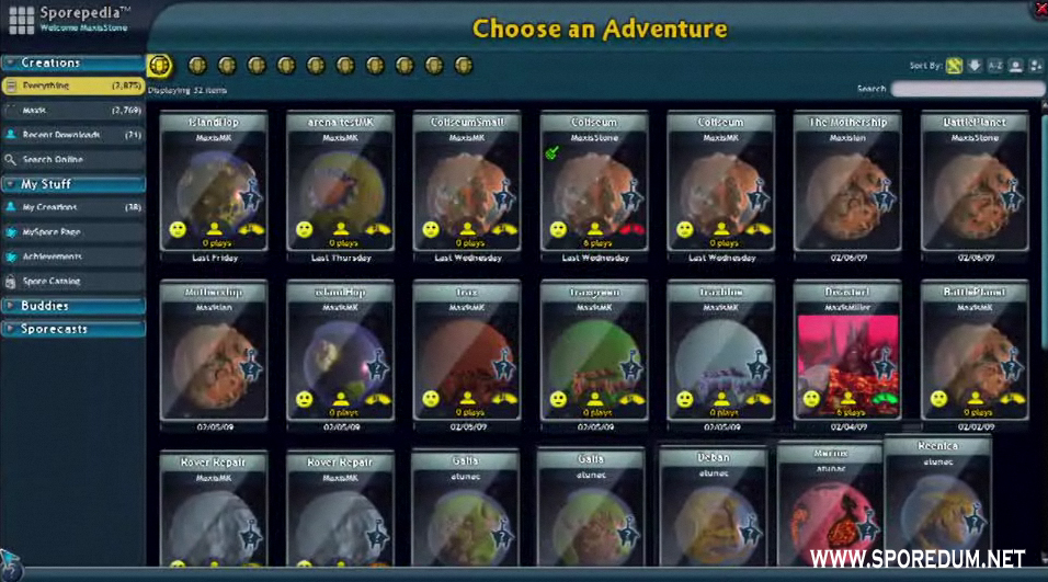 Spore Galactic Adventures 6